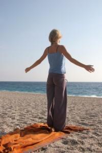 yoga am strand 3